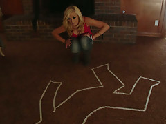 Texas pussy massacre with delicious blonde Dylan Riley