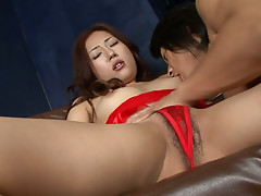 Yuu Uehara enjoys  good pussy teasing