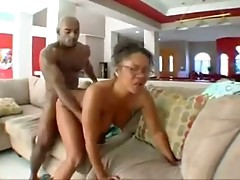 Hot Hairy  Ebony Mom