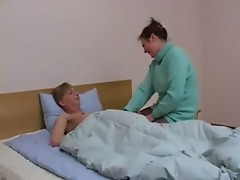 mom and not her son at bed