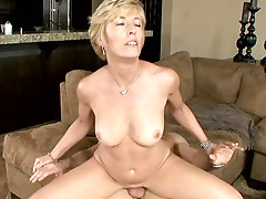 Blonde milf Chanel Carrera is eager to make a ride
