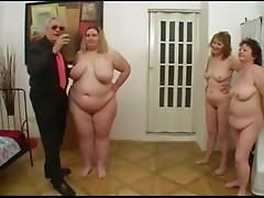 show of 3 bbw Italian matures