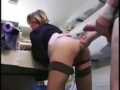 Mature Boss and Her Employee