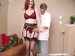 Hot Cougar Stacy Fillmore Stockings Sex