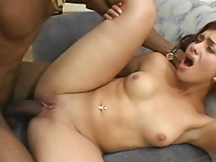 Redhead Victoria Butts is sucking tasty dick