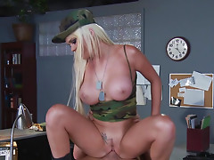 Hot threesome with Alexis Ford, Johnny Sins and Juelz Ventura