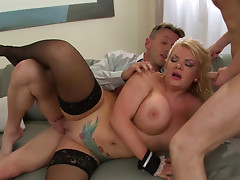 Tiffany Kingston is a dick riding maid