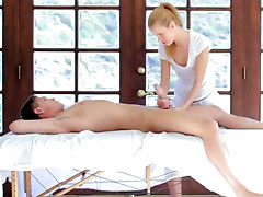 Handjob massage from Jessie Rogers