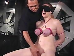 Secretary put in sexy bondage