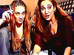 Smoking milfs on webcam tease you