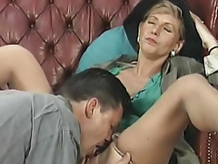 Classy mature fucked from behind