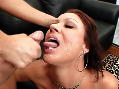 Hairy milf opens legs for big cock