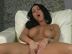 Busty and smoking hot Dylan Ryder is here to satisfy his powerful rod