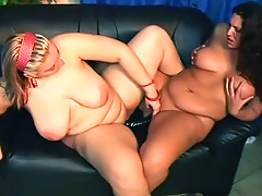 Chubby ladies with a lust for the pussy