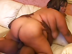 Black fatty fucked in the vagina
