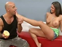 Rachel Roxxx Hot Foot Fetish with good old fashioned fucking