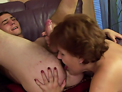 Fat ass mature bent over for cock