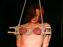 Their painful bondage adventure begins