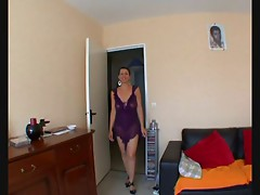 French Anal Mama Loves It Black