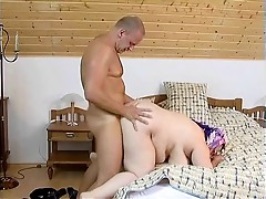 Insatiable Granny gets herself off