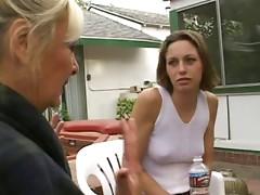 Grandma Anastasia Sands Seduces Young Vanessa Mackenzie