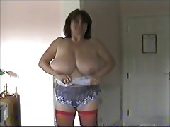 Toni Kessering gets dressed after a sex session