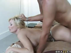 Busty Holly Sampson Gets The Big Dick Attention She Was Needing
