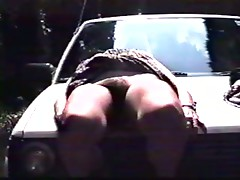 a little car sex, outdoors and indoors (Japanese amateurs)