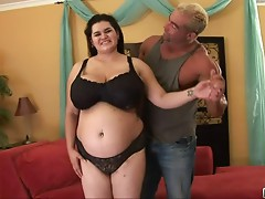 Huge tits fat whore nailed by hard cock here
