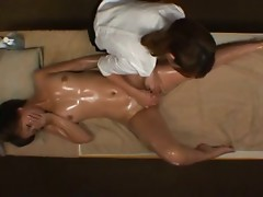 Lesbian Oil Massage Luxury Married MANAMI