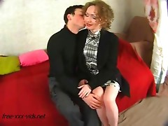 Sexy mother gets drilled after seducing a young boy