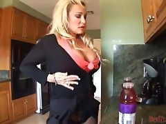 Busty Mommy Satisfies Her Needs With A Hot Threesome