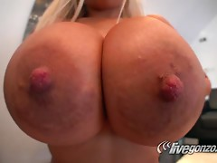 An Incredible Scene With The Busty Blonde Bridgette B