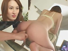 Food play in Oriental ass
