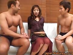 Japanese older babes