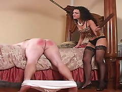 Tutored by Mistress in Stockings