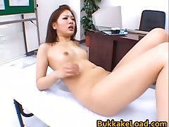 AYa Matsuki Lascivious Asian doll enjoys sex