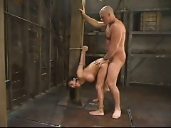 oily bondage fuck