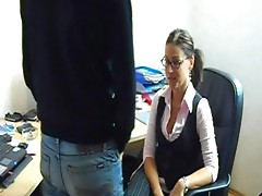 Dilettante Hot Smal Tits German Office Fuck