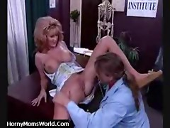 Titted blond aged sexy fucking