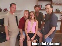 Teen Anal invasion Virgin Wazoo Banging Bukkake