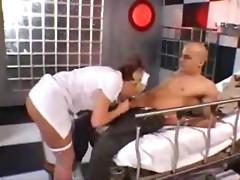 Sexy Nurse with Big Tits