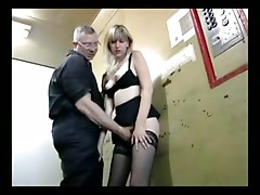 German slut punished with harsh gangbang treatment part 1