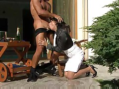 sensual scene