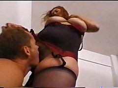 Busty BBW Gets Her Hairy Pussy Banged