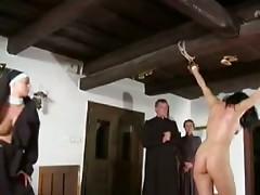 Von der Nonne Ausgepeitscht