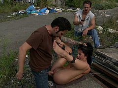 Cute Felicia gets drilled hard with help of stranger