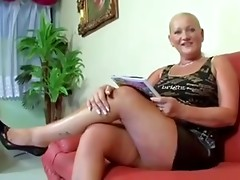 Chubby granny loves dick