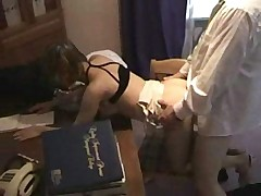 Teen secretary fuck -