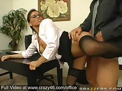 Big Titted Secretary gets fucked in Office -